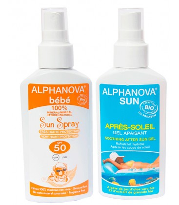 Pack Protector solar bebe + Aftersun bio