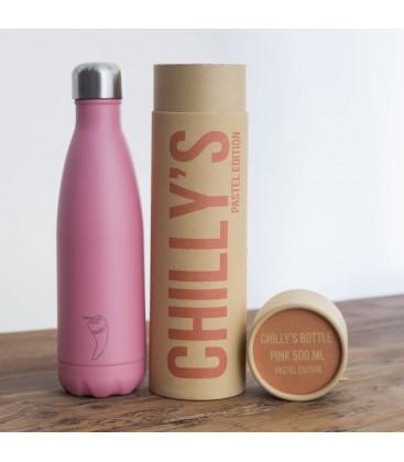 Botella térmica Rosa Pastel 500ml