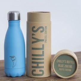 Botella térmica Azul Pastel 260ml