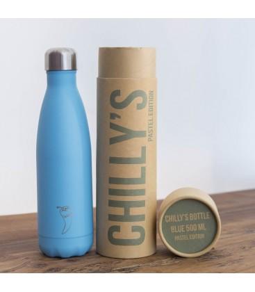 Botella térmica Azul Pastel 500ml