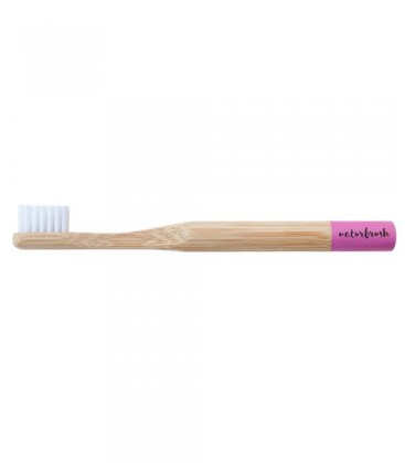 Cepillo dientes infantil bambú Rosa