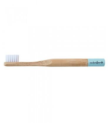 Cepillo dientes infantil bambú Azul