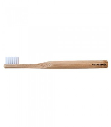 Cepillo dientes infantil bambú Natural