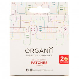 Tiritas KIDS algodón orgánico 20un.