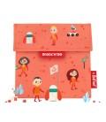 Porta Alimentos Snack'n'Go Kids Space Naranja