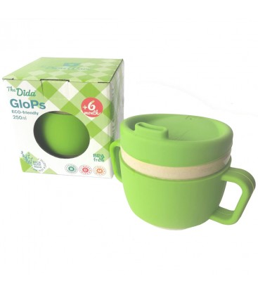 Taza de Aprendizaje Glops Verde