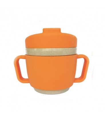 Taza de Aprendizaje Glops Naranja