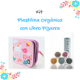 Kit Plastilina orgánica con Libro Pizarra