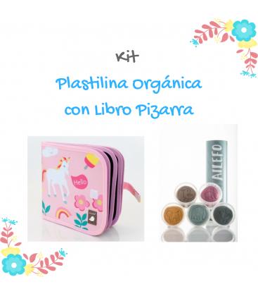 Kit Plastilina orgánica + Libro Pizarra