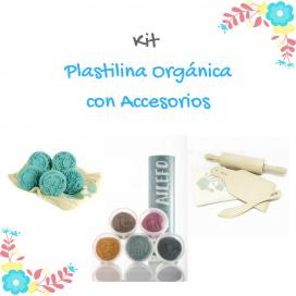 Kit Plastilina orgánica con accesorios