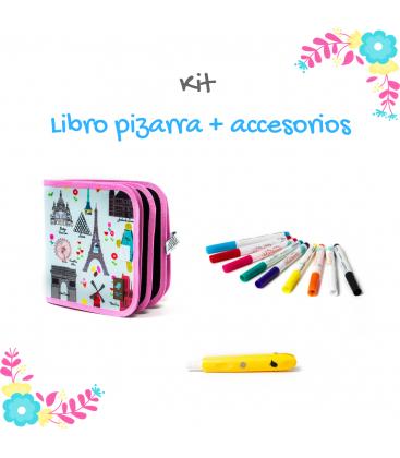 Kit Libro pizarra + Accesorios