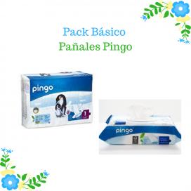 Pack Básico Pañales Pingo