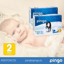 Pañales ecológicos Pingo T2 (3-6kg)