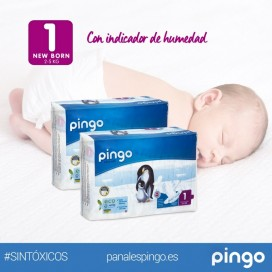 Pañales ecológicos Pingo T1 (2-5kg)