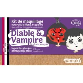 Kit de Maquillaje Infantil  Bio Diablo & Vampiro