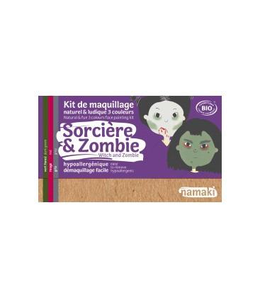 Kit de Maquillaje Infantil  Bio Bruja & Zombie