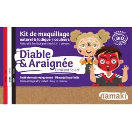 Kit de Maquillaje Infantil  Bio Diablo & Araña