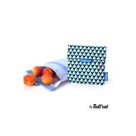 Porta Alimentos Snack'n'Go Tiles Azul