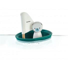 Barquito Velero Oso Polar