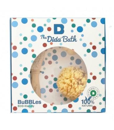 Pack BUBBLES 2: 2 esponjas naturales y cepillo
