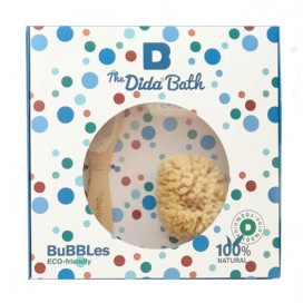 Pack BUBBLES: esponja natural, cepillo y toallita