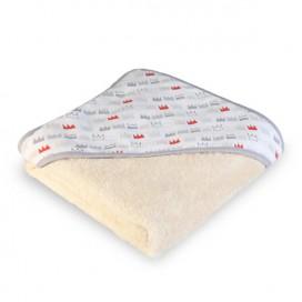 Capa baño algodón orgánico Coronas
