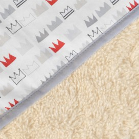 Capa baño algodón orgánico Zebras