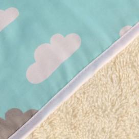 Capa baño algodón orgánico Nubes
