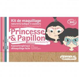Kit de Maquillaje Infantil  Bio Princesa & Mariposa