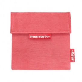 Porta Snack'n'Go Eco Rojo