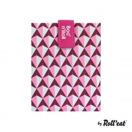 Porta bocatas Boc'n'Roll Tiles Rosa