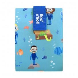 Porta bocatas Boc'n'Roll Kids Ocean Azul