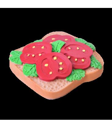 Mordedor Tostada Tomate de Caucho natural