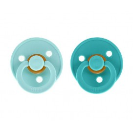 2 Chupetes BIBS Mint/Turquoise
