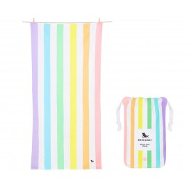 Toalla Playa Microfibra Summer Rainbow  L