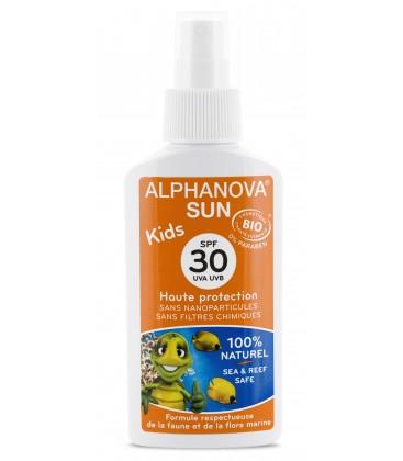 Protector Solar Bio Kids SPF 30,125 ml. Alphanova Sun