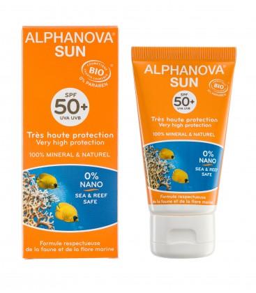 Protector Solar Bio SPF 50+ Adultos, 50gr. Alphanova Sun
