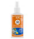 Protector Solar Bio SPF 30 Adultos, 125 ml. Alphanova Sun