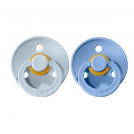 2 Chupetes BIBS Blue