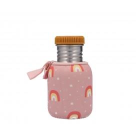 Botella Acero Inoxidable Arco Iris Rosa