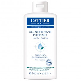 Gel limpiador purificante 200ml CATTIER