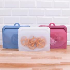 Pack de 2 Bolsas Silicona Platino Reutilizable MONTII