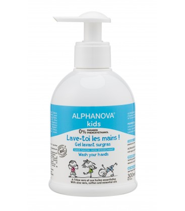 Gel Desinfectante de Manos 300ml Alphanova Kids