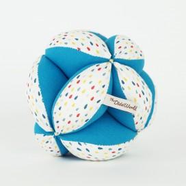 Pelota Montessori Tipis Azul The Dida