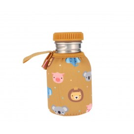 Botella Acero Básica Mostaza Personalizable 350ml