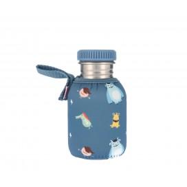 Botella Acero con Funda Little Monsters Personalizable 350ml