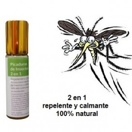 Repelente Roll-on contra mosquitos 2 en 1 IWONA
