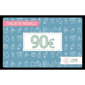 Tarjeta regalo 90€