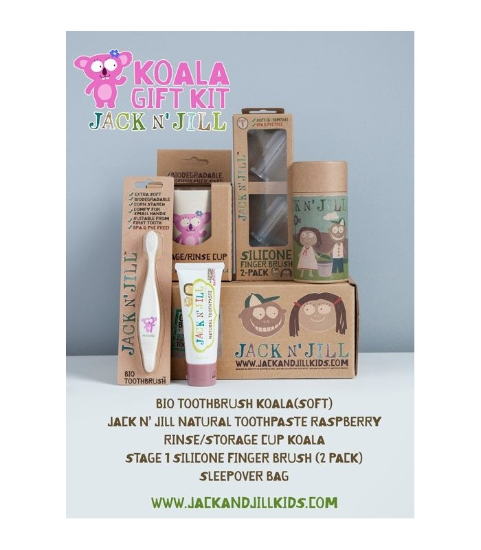 52bb99d48 Kit Regalo higiene dental Koala Jack and Jill
